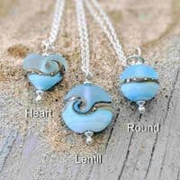 Beach Babe Necklace | Sea Breeze | Julie Fountain